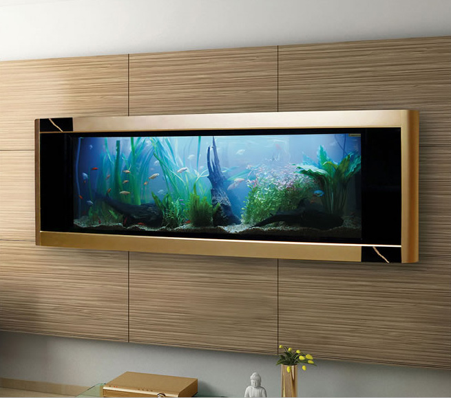 Aquavista Dino Gold Fish Tank Is World S Most Expensive