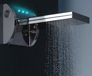 Aquavolo Music-Chromotherapy shower by Bossini