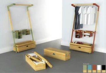 Arara Nômade: Removable Closet Kit