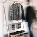 Arara Nomade Closet Folds Up and Travels With you