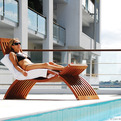 Arc chaise longue by Liam McFadyen