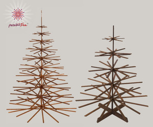 Architect-designed Wood Christmas Tree