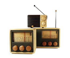 Areaware Wooden Magno Radios
