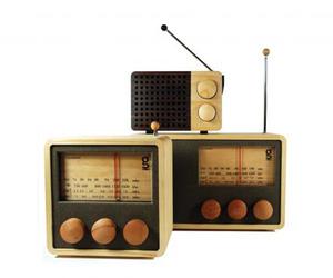 Areaware Wooden Magno Radios