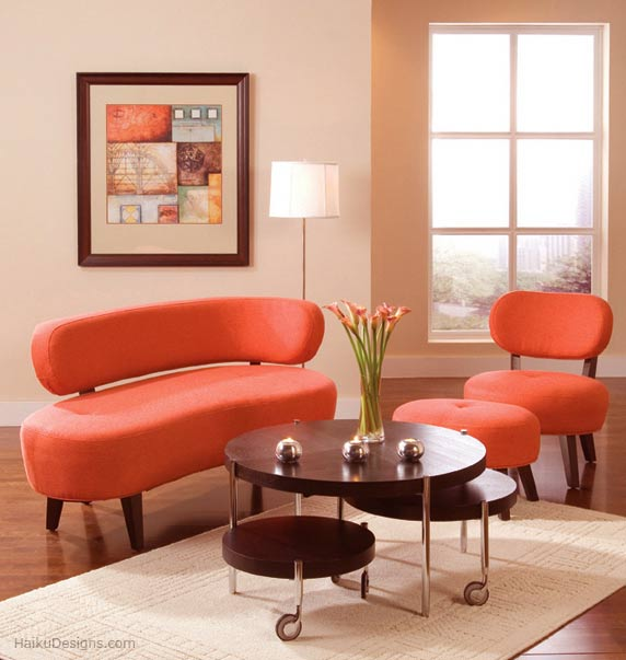 Colorful Living Room Sets: Aria Living Room Furniture