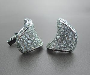 'Armada' Silver Cufflinks for Men