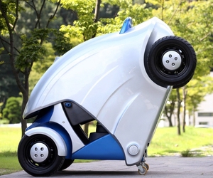 Armadillo-T: KAIST unveils Foldable Micro Electric Car