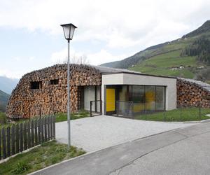 Armin Blasbichler's home in South Tyrol