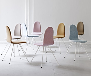 Arne Jacobsen's Tongue chair relaunched by HOWE