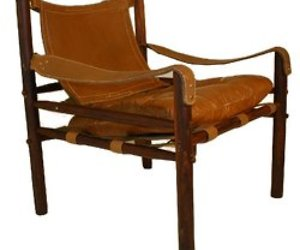 Arne Norell Scirocco Safari Chair in Rosewood
