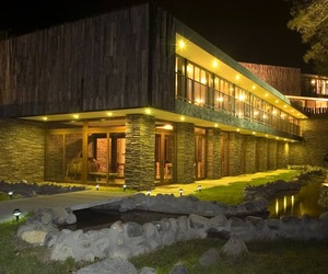 Arrebol Hotel in Patagonia by Harald Opitz