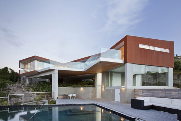 Art and Modern Architecture Redcliffs House in New Zealand