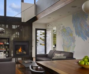Art-Filled Interior - The Beet Residence