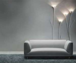 "Art Lighting : ""Stukkolief "" by Stephan Gervers"