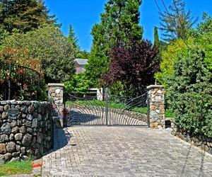 Art Nouveau Driveway Entrance Gate