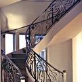Art Nouveau Spiral Staircase