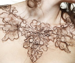 Art Student Creates Necklaces from Human Hair