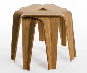 Artek,  Bambu Side Tables