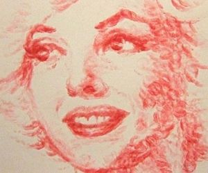 Artist Makes Paintings by Using Just Her Lips