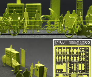 Architectural Paper Models by Naoki Terada