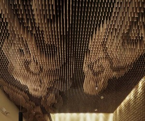 Artistic Ceiling by Takeshi Sano
