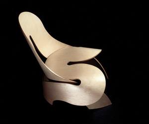 Artistic Chair Fauteuil By Aldo Bakker