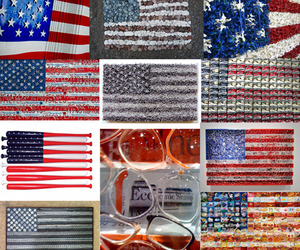 Artistic Interpretations of the American Flag