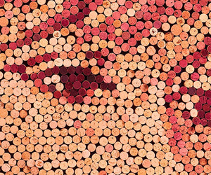Art From Thousands of Wine Corks by Scott Gundersen