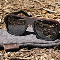 Ashland East Indian Rosewood Sunglasses by Shwood