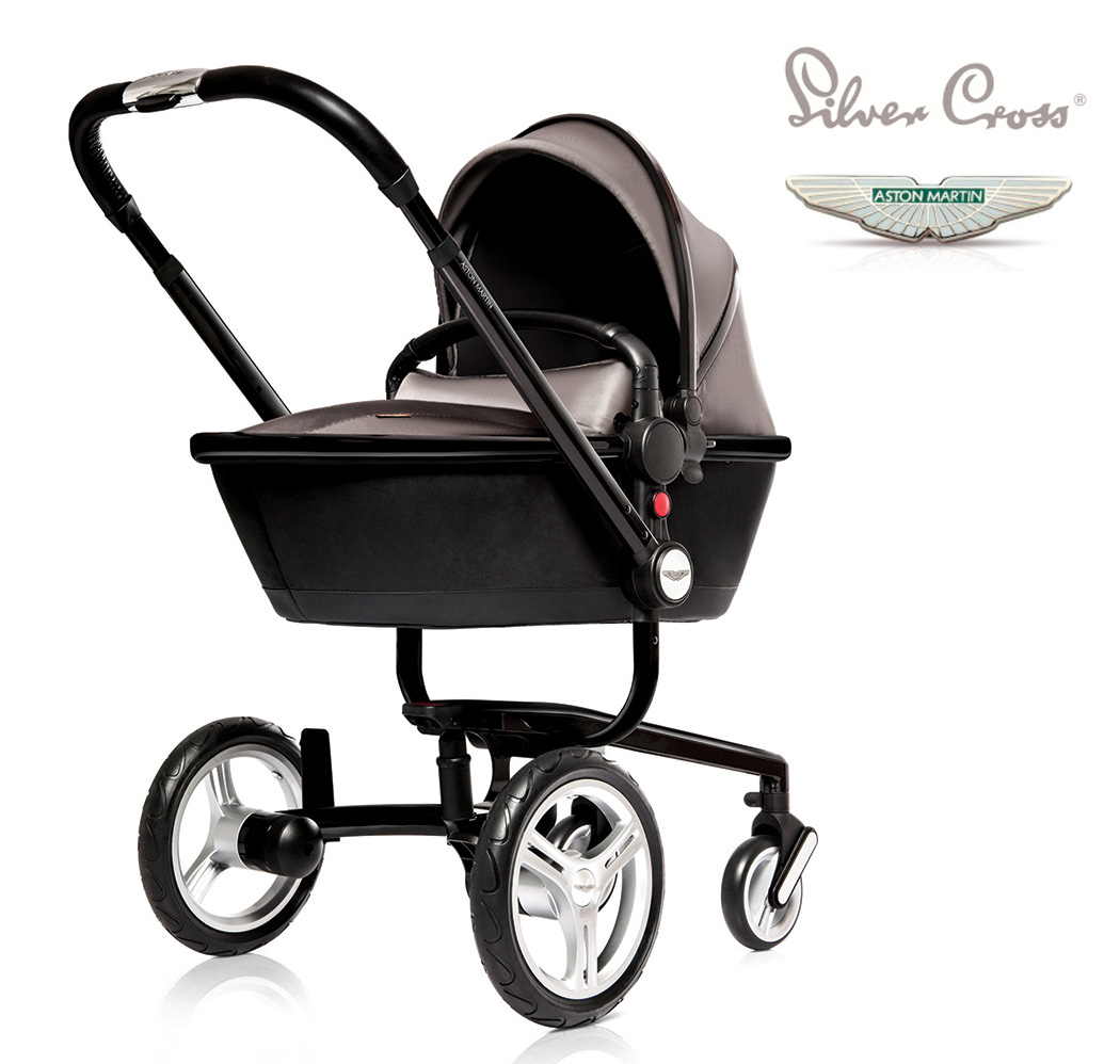 Aston Martin X Silver Cross Limited Edition Surf Pram - Aston martin stroller