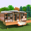 Astonishing Modern Convertible Mobile Home