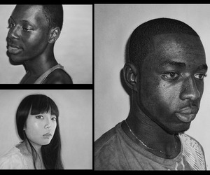 Astoundingly Realistic Graphite Drawings | Kelvin Okafor