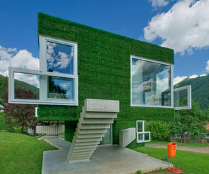 Astroturf Covered Home In Austria