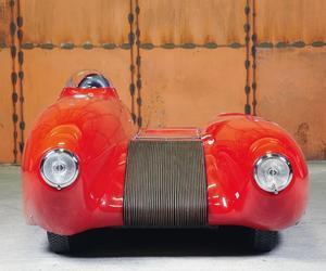 Asymmetrical Racer by Carlo Mollino