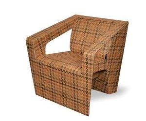 ATRIA cardboard armchair by Amplitude