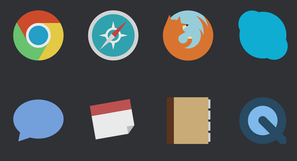 Attention Mac Users These Minimalist Icons Candy Bar