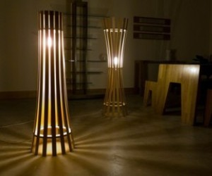 Attractive Wooden Floor Lamps
