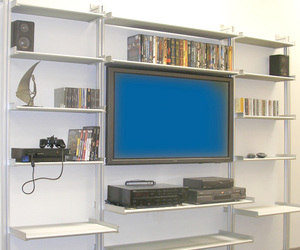 Audio Visual Entertainment Center from Rakks
