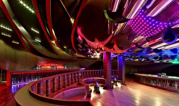 Aura Nightclub By Bluarch Architecture Interiors Light