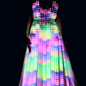 Aurora Dress Made With Hundreds of LEDs