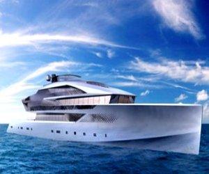 Aurora superyacht at Monaco Yacht Show