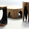 Ausgebrannt:  Burned Wood Furniture
