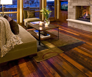 Authentic Distressed Flooring by Mountain Lumber