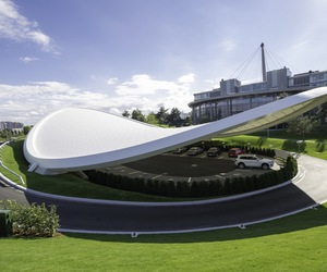 Autostadt Roof and Service Pavilion by Graft Architects
