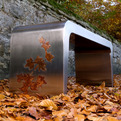 Autumn urban furniture