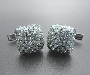 Avant Garde Silver Cufflinks for Mens