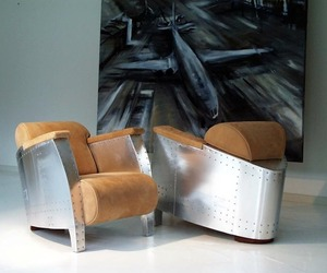 Aviator Chairs and Art