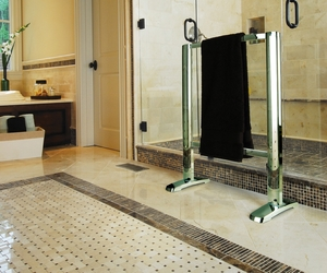 Award-Winning *Heated-Glass* Towel Warmers by Thermique