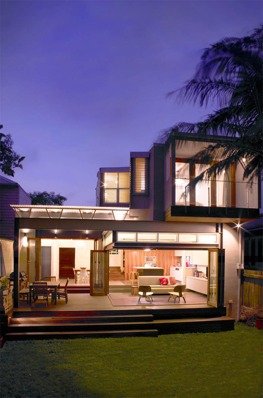 Award winning sustainable home in sydney for Best house designs sydney