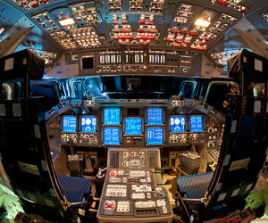 Awesome Photography of Spaceship Flight Decks